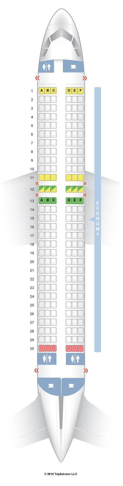Seatguru Seat Map Indigo Airlines Airbus A320 320 Desktop