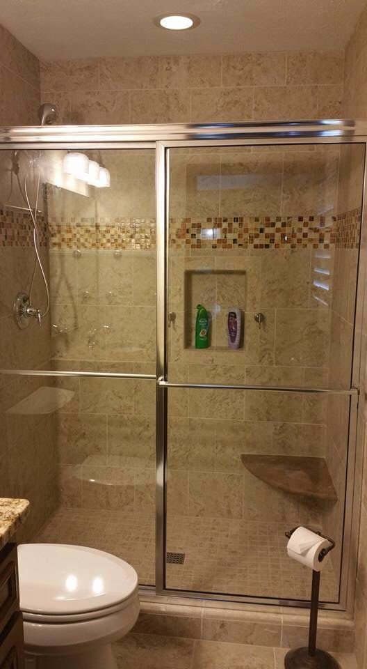 Cast Iron Tub Removal Replaced with Porcelain Tile Shower ...