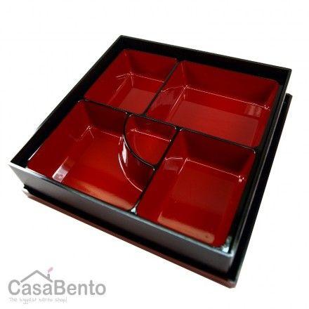Black Square Shokado Bento