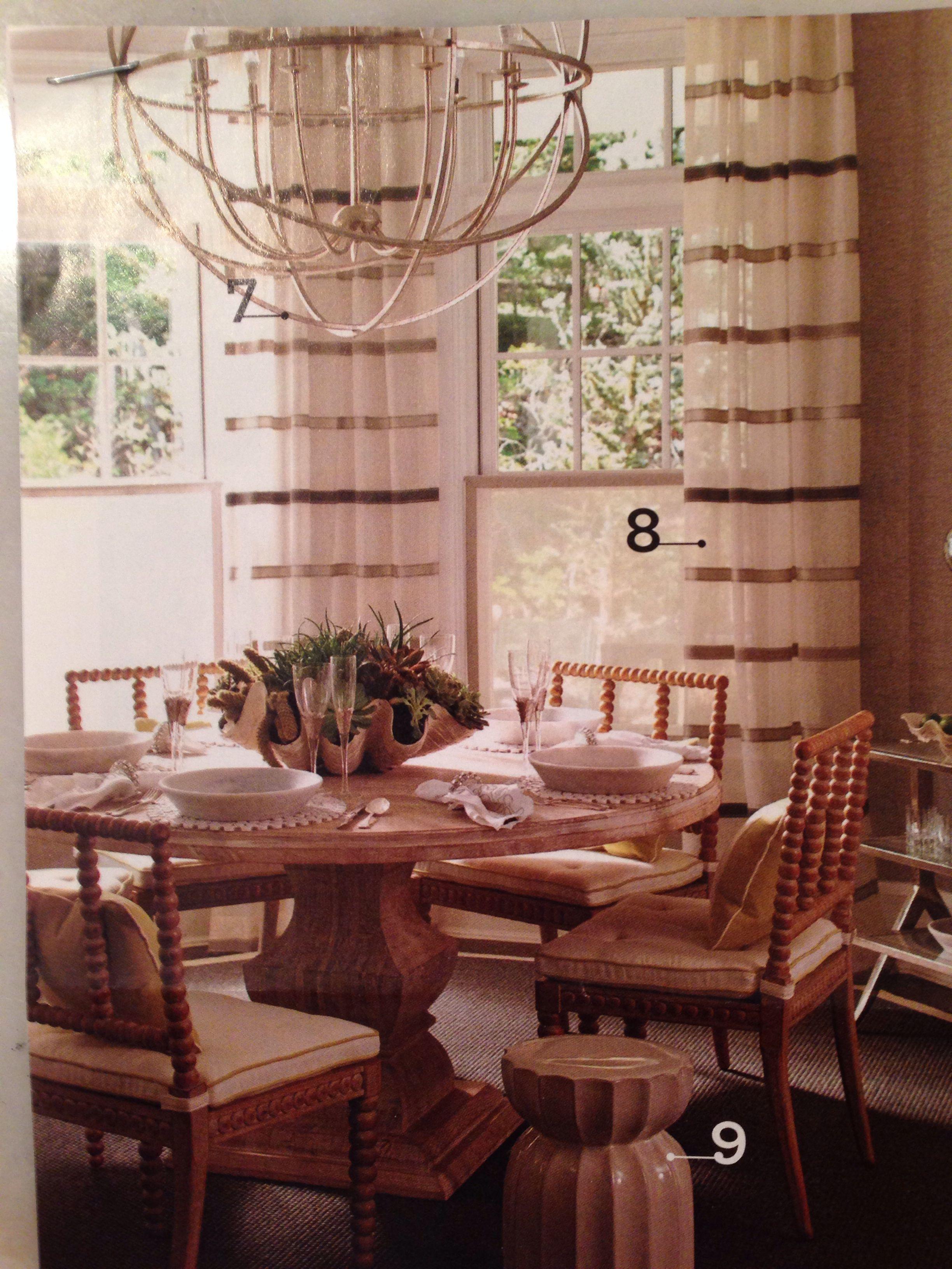 Striped sheer drapery panels pindler geneva/sterling 3064