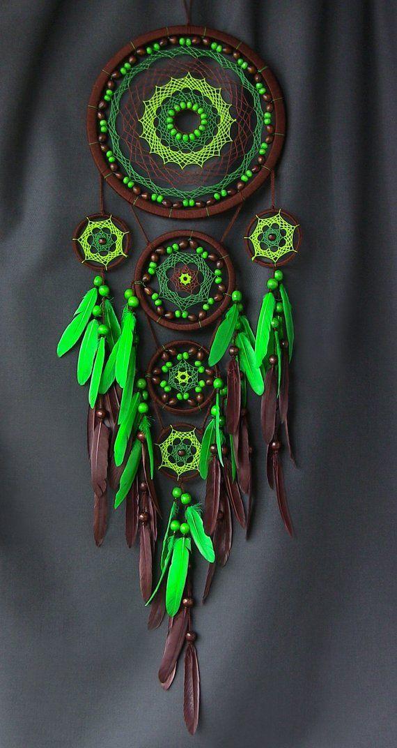 Traumfänger Dreamcatcher Traumfänger Geschenk große Traumfänger Traumfänger für Wand grün Traumfänger Boho Dekor Dreamcatcher Schlafzimmer #dreamcatcher