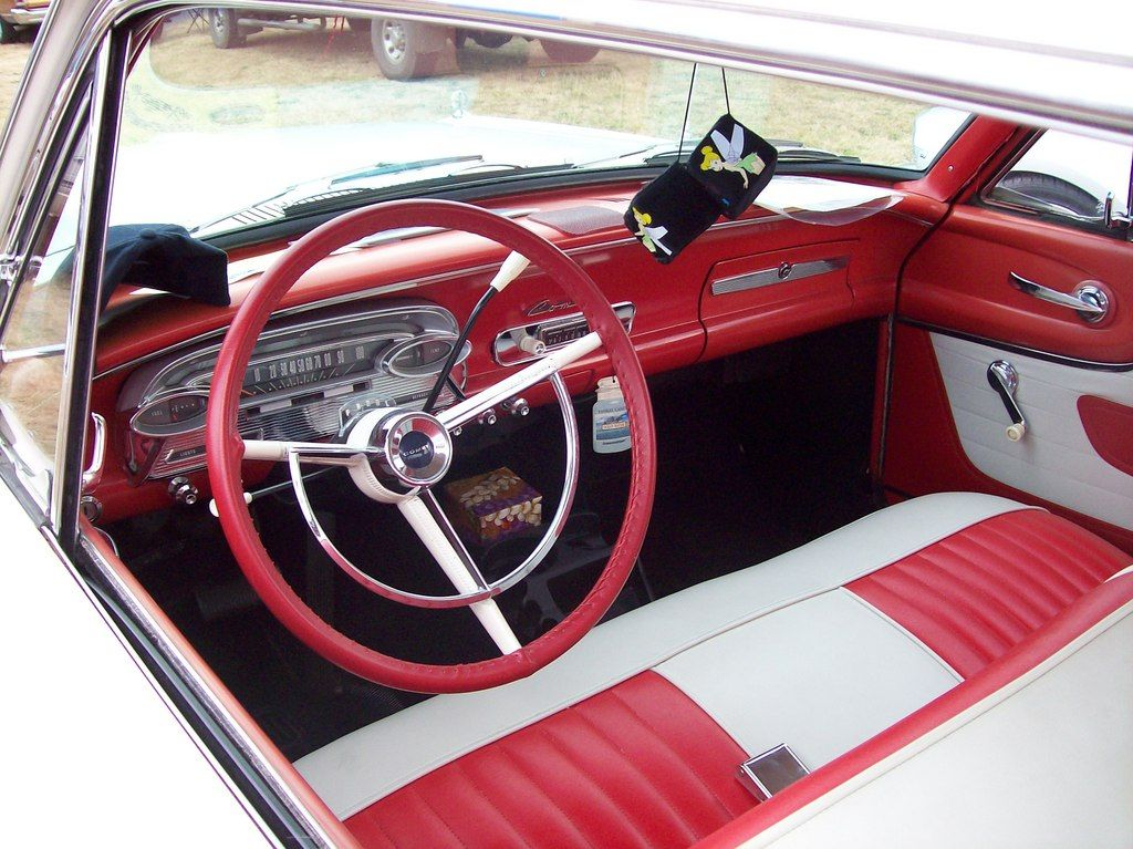 1960 Mercury Comet interior | Favorite Old Cars | Truck
