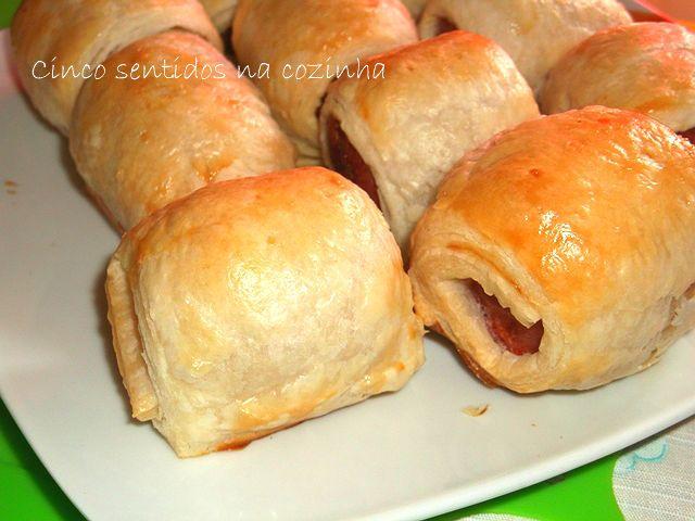 Five Senses in the kitchen: Folhadinhos sausage barbecue