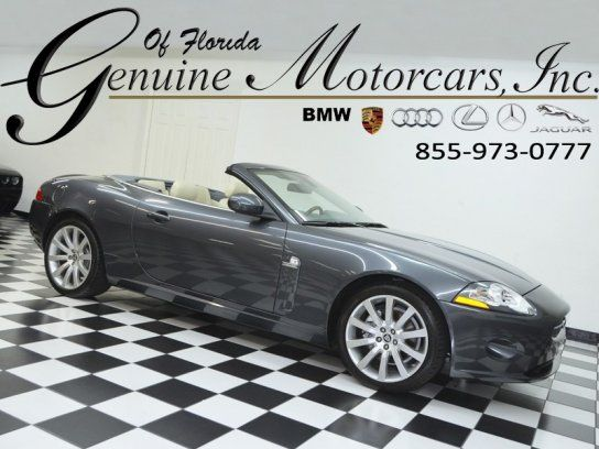 Cars For Sale: Used 2007 Jaguar XK In Convertible, Saint Petersburg FL:  33713