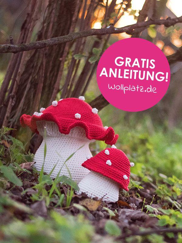 Photo of Gratis Häkelanleitung: Fliegenpilz