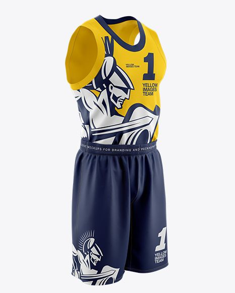 Download Download Basketball Kit PSD Mockup Half Side ViewTemplate ...