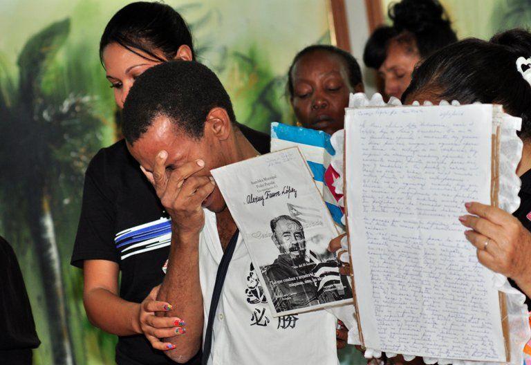 Despedida a Fidel Castro. Guantánamo. Cuba