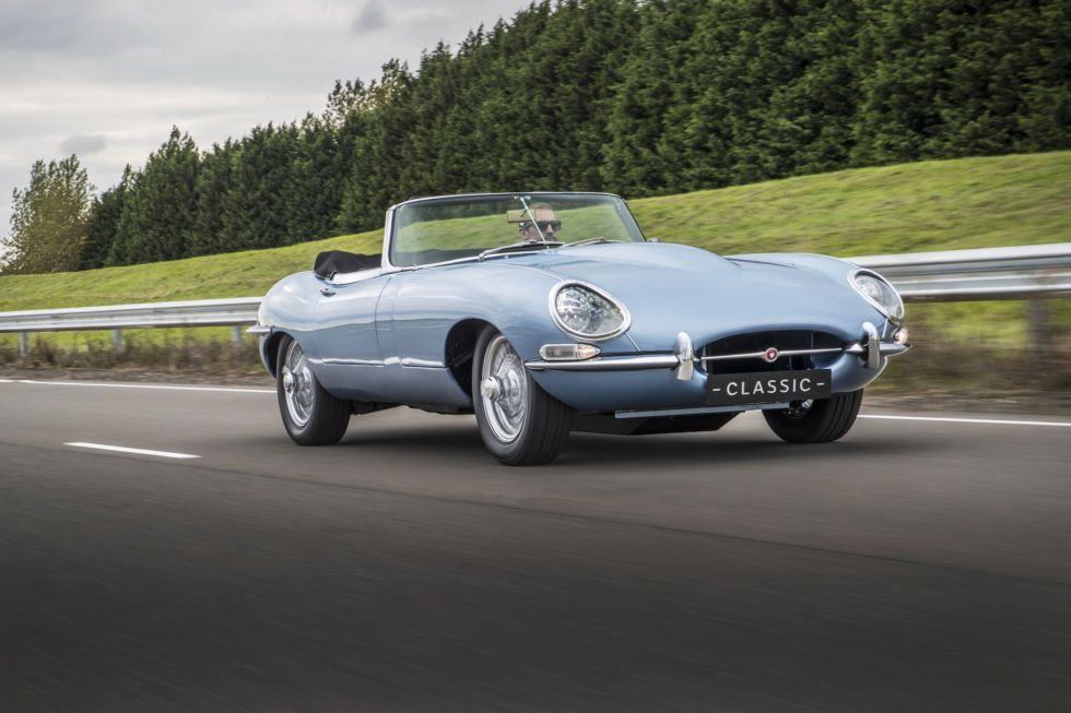 Jaguar\'s restored this old E-type with an electric upgrade ...