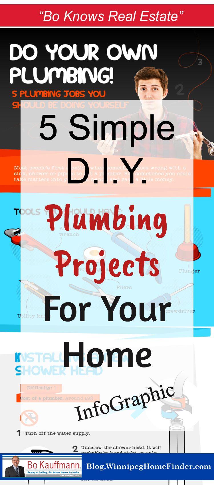 5 quick easy do it yourself plumbing hacks infographic real 5 quick easy do it yourself plumbing hacks infographic solutioingenieria Images