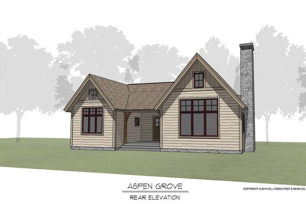 Aspen Grove Timber Frame Floor Plan By Mill Creek