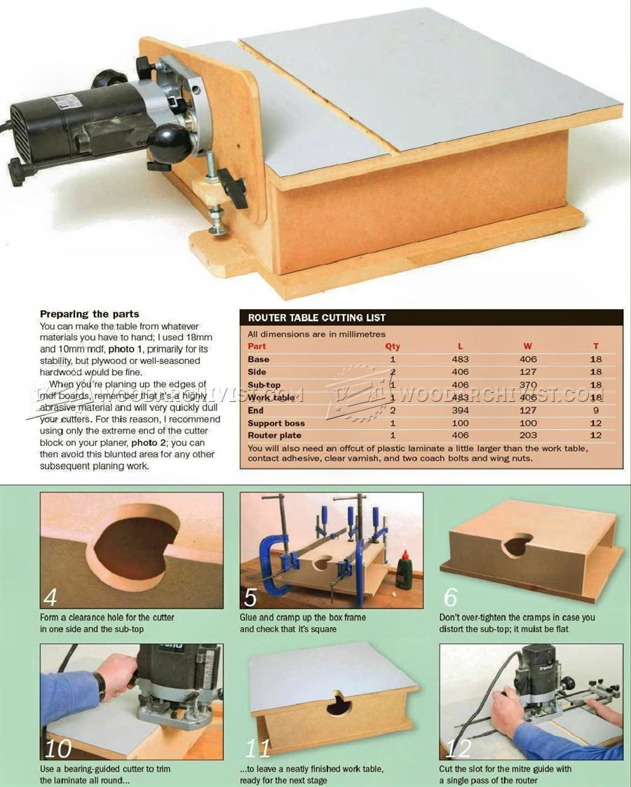 2754 Build Horizontal Router Table Router Router Table Router Table Plans Woodworking Router Table