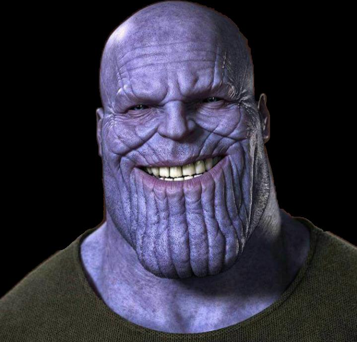 Freetoedit Thanos Marvel Avengersinfinitywar Remixit Thanos Face Marvel Png