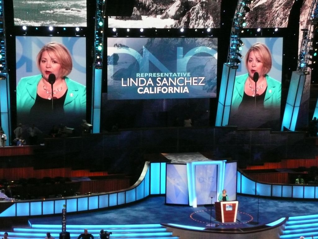 Representative Linda Sanchez of California