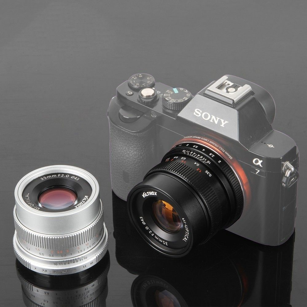 Viltrox 35mm F2 Wide-Angle Large Aperture Fixed Prime Lens for Sony ...