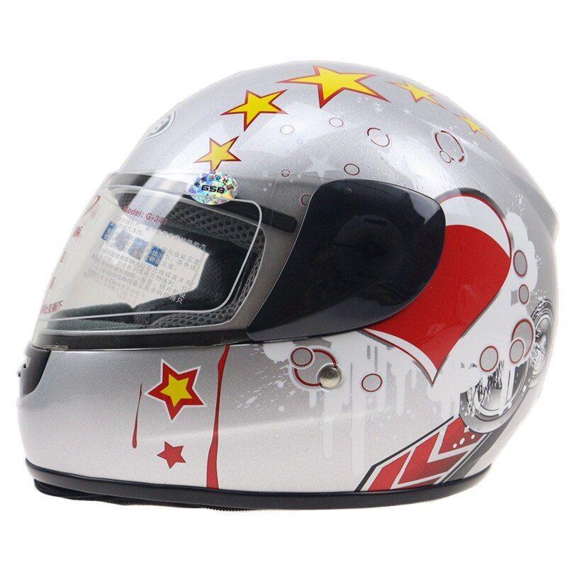 Child helmet DOT approved kid full face motorbike helmet