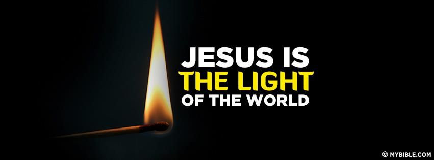 Jesus is The Light The World | Jesus Is My Lord | Pinterest