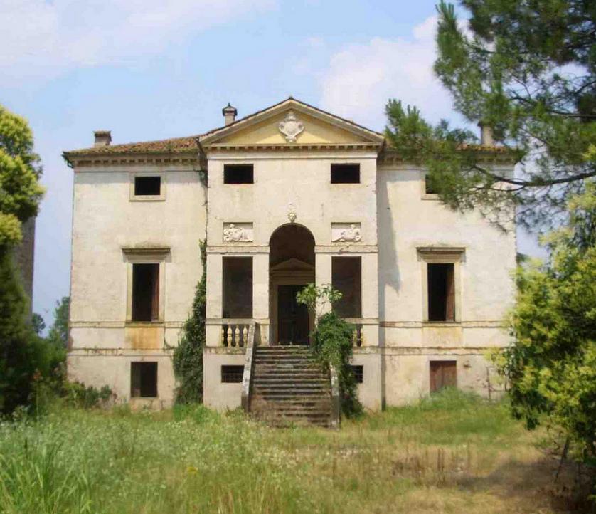 Italian Villa Style House Plans: Palladio S Deserted 1540s Villa Forni Cerato Awaits A