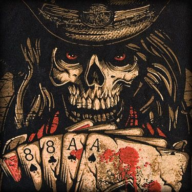 aces and eights dead mans hand images in caves