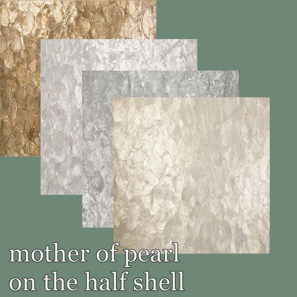 Mf 11 Mother Of Pearl On The Half Shell Oyster Maya Romanoff