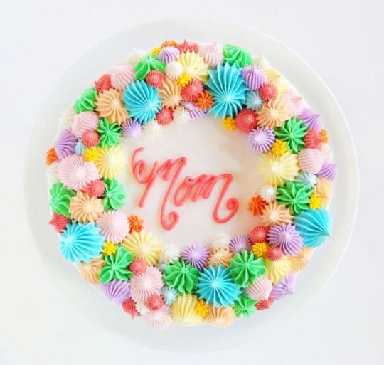 Mothers Day Cake  Open Star Tip CakeReally nice recipes. Every  Mein Blog: Alles rund um die Themen Genuss & Geschmack  Kochen Backen Braten Vorspeisen Hauptgerichte und Desserts # Hashtag