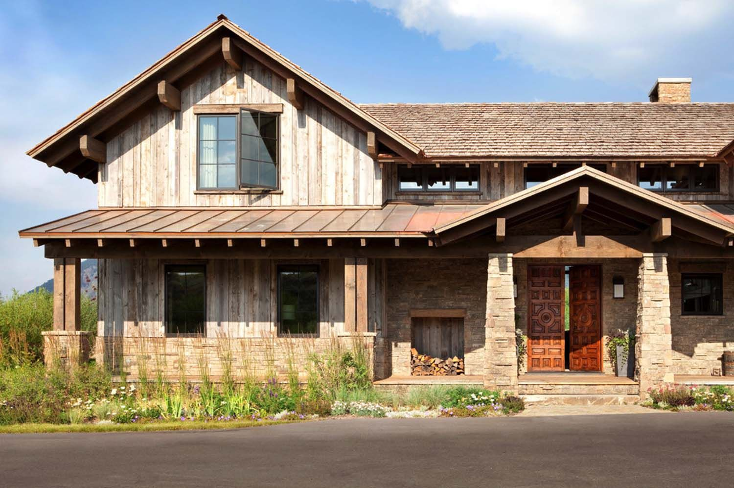 Wyoming farmhouse offers exquisite mix of antiques and ... on exterior fireplace designs, exterior brick house designs, basement ranch home designs, exterior home house design, interior ranch home designs, exterior bungalow designs, living room ranch home designs, modern ranch home designs, remodeled ranch home designs, front ranch home designs, waterfront ranch home designs, ranch style house designs,