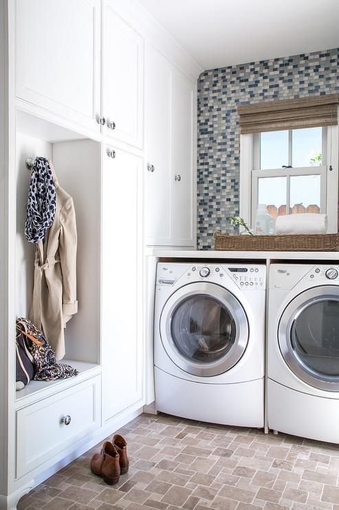 Save Space With This Laundry Room And Mudroom Combo Laundry Room