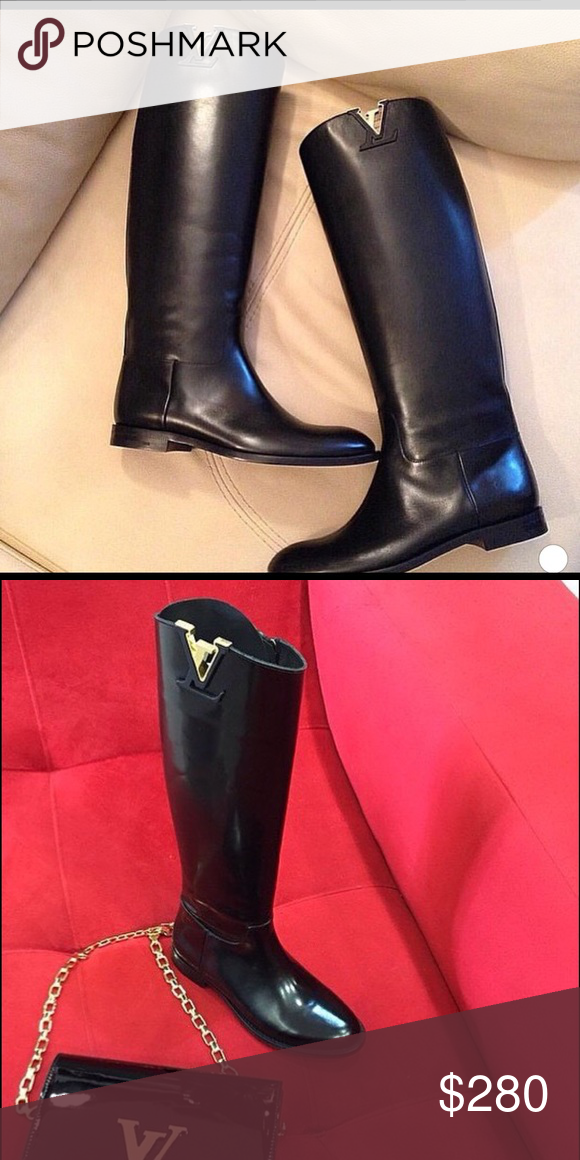a5cd55d7d2c Size 8 long lv boots Price reflects Auth!!! Size 8! Louis Vuitton Shoes  Over the Knee Boots