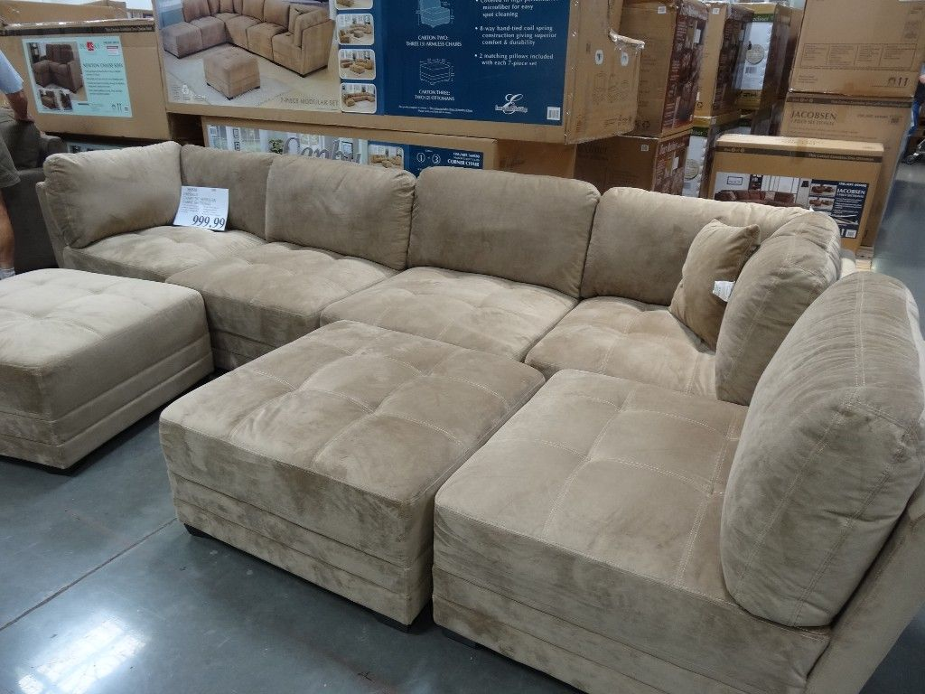 Best Canby Modular Sectional Sofa Set Costco Basement 400 x 300