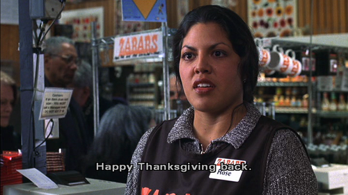 Happy Thanksgiving… it's your turn to say Happy