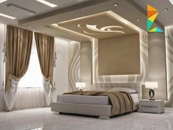 ديكور جبس غرف نوم 2017 2018 Ceiling Design Living Room Unique Bedroom Design Bedroom False Ceiling Design