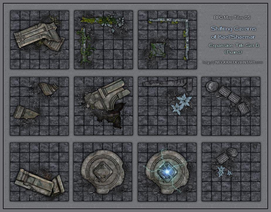 Subway Map Tileset Rpgmaker.Rpg Map Tiles 05 By Neyjour On Deviantart Setting Dungeon Maps