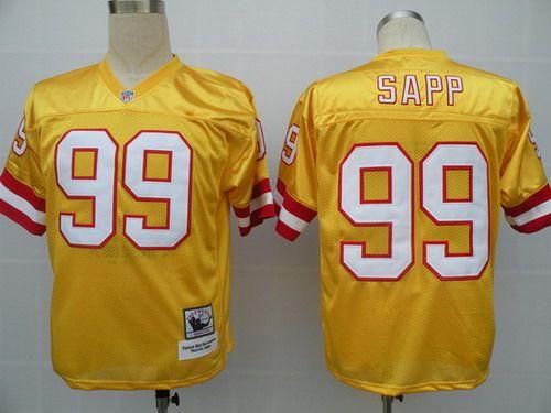 Tampa Bay Buccaneers 99 Warren Sapp Orange Throwback Jersey Nfl Jerseys For Sale Tampa Bay Buccaneers Nfl