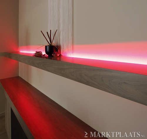 vensterbank led strip verlichting http://www.ledstrip-specialist.nl ...