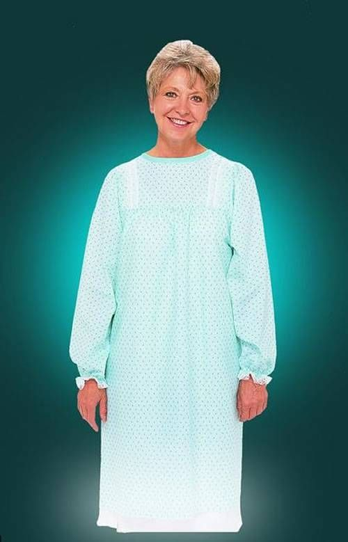 Lady Lace fashion hospital gowns are a comfortable alternative to ...