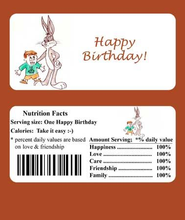 graphic about Free Printable Birthday Candy Bar Wrappers referred to as Down load Free of charge Printable Do-it-yourself Sweet Bar Wrapper Template