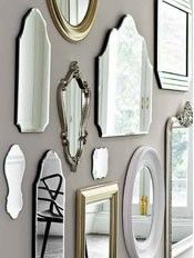 Living Room Furniture | Living Room. Wall Of MirrorsMirror ...