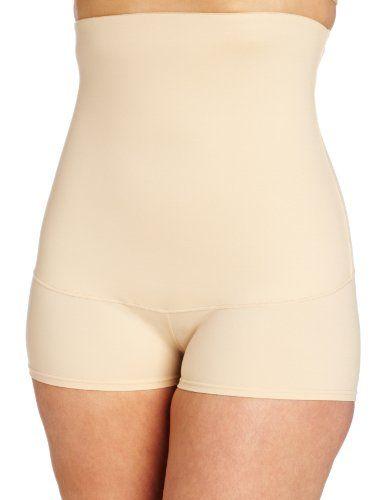 9a645a0e79 Maidenform Flexees Women s Shapewear Minimizing Hi-Waist Boyshort ...