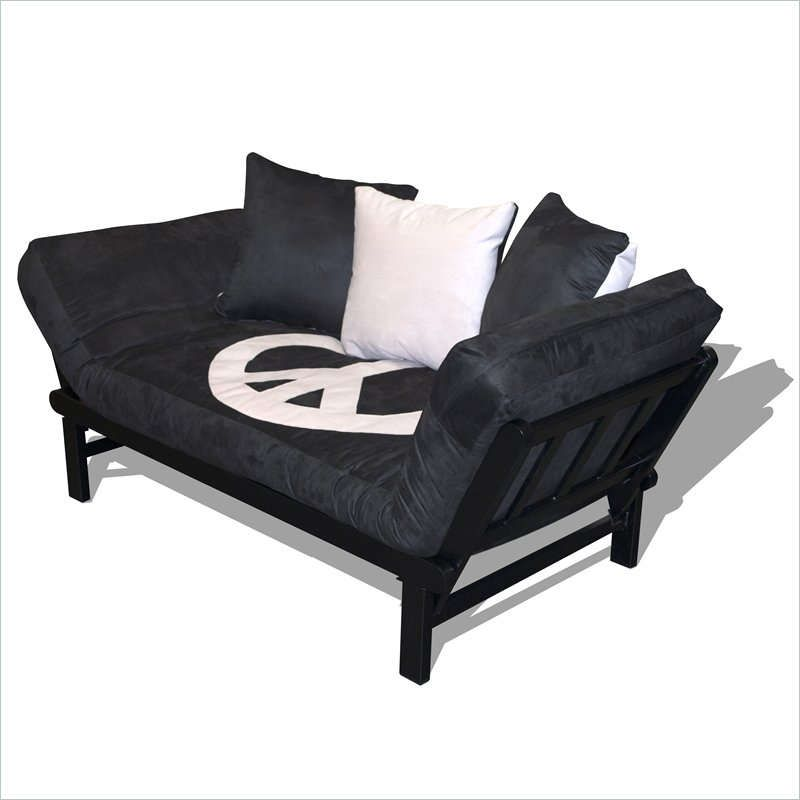 Mainstays Metal Arm Futon With Mattress Futon Mattress