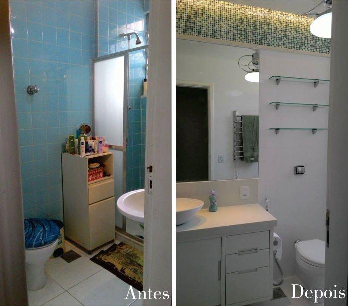 Os banheiros valorizam muito um imóvel. Quanto mais moderno e atual ele estiver, mais fácil será passar uma boa impressão da casa ao possí...