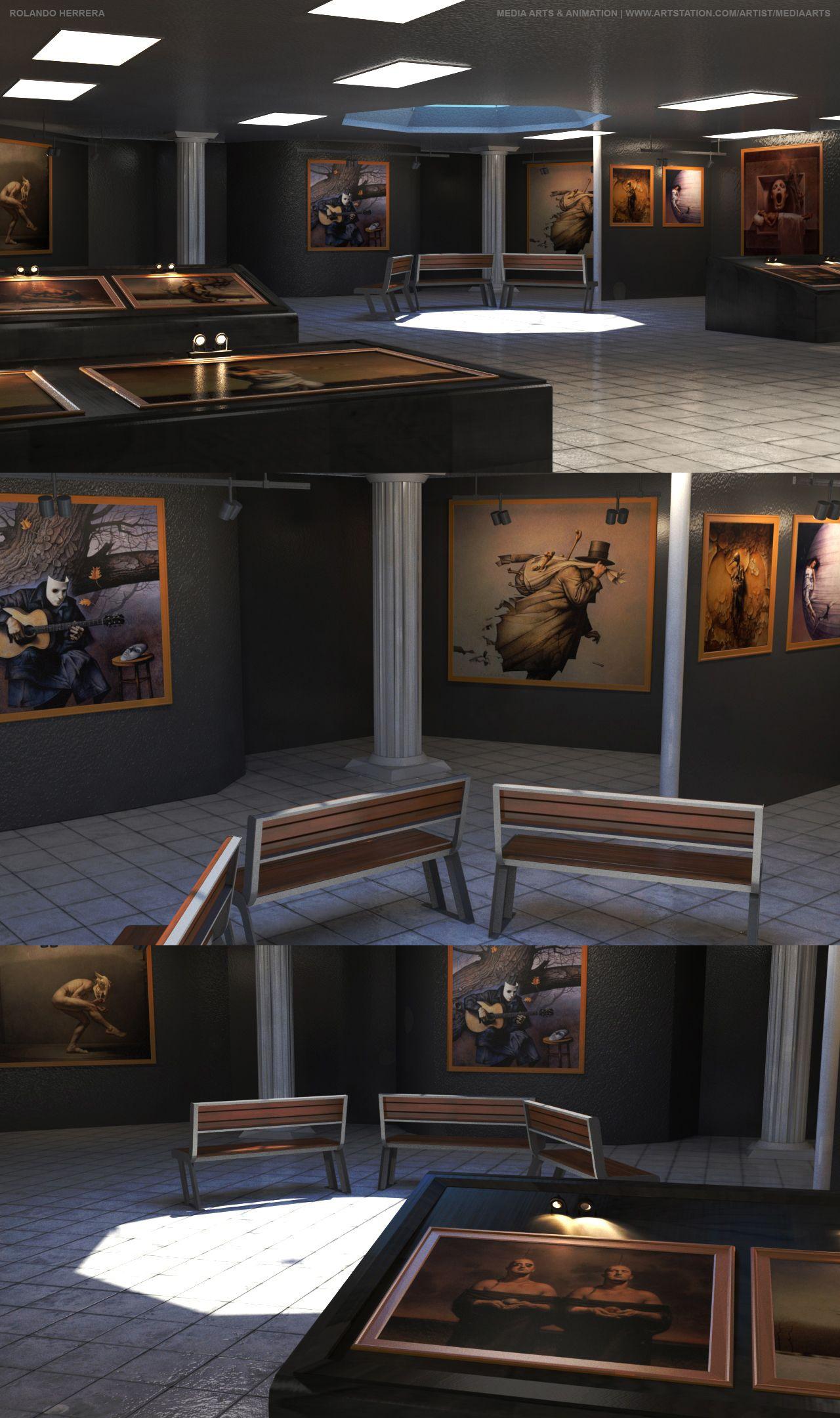 Rolando Herrera John Jude Palencar Art Museum The Art Institute - The art institute game design
