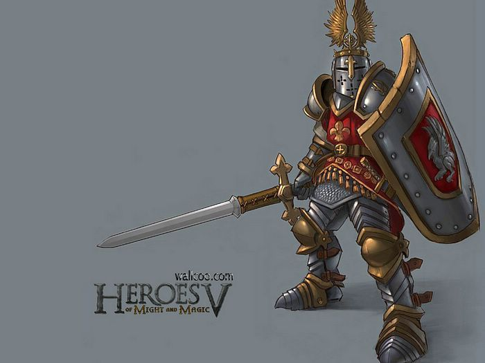 Heroes V Characters Races Concept Art Wallpaper Heroes Of