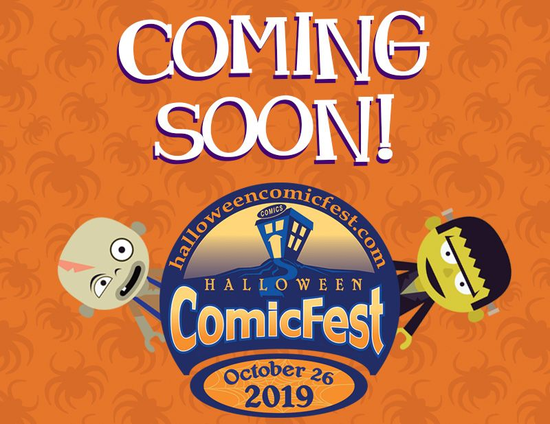 @halloweencomic & @CollectDST Announces Full Line-Up of Halloween #ComicFest 2019 Comic Books