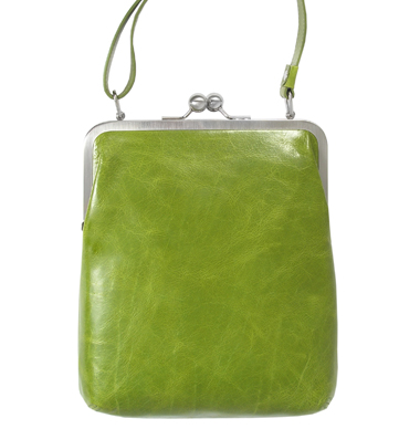 lola volker lang handtasche leder mit b gelverschluss. Black Bedroom Furniture Sets. Home Design Ideas