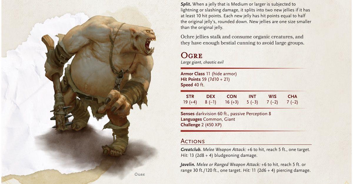 Dungeons & Dragons Reveals Three Starter Set Monsters