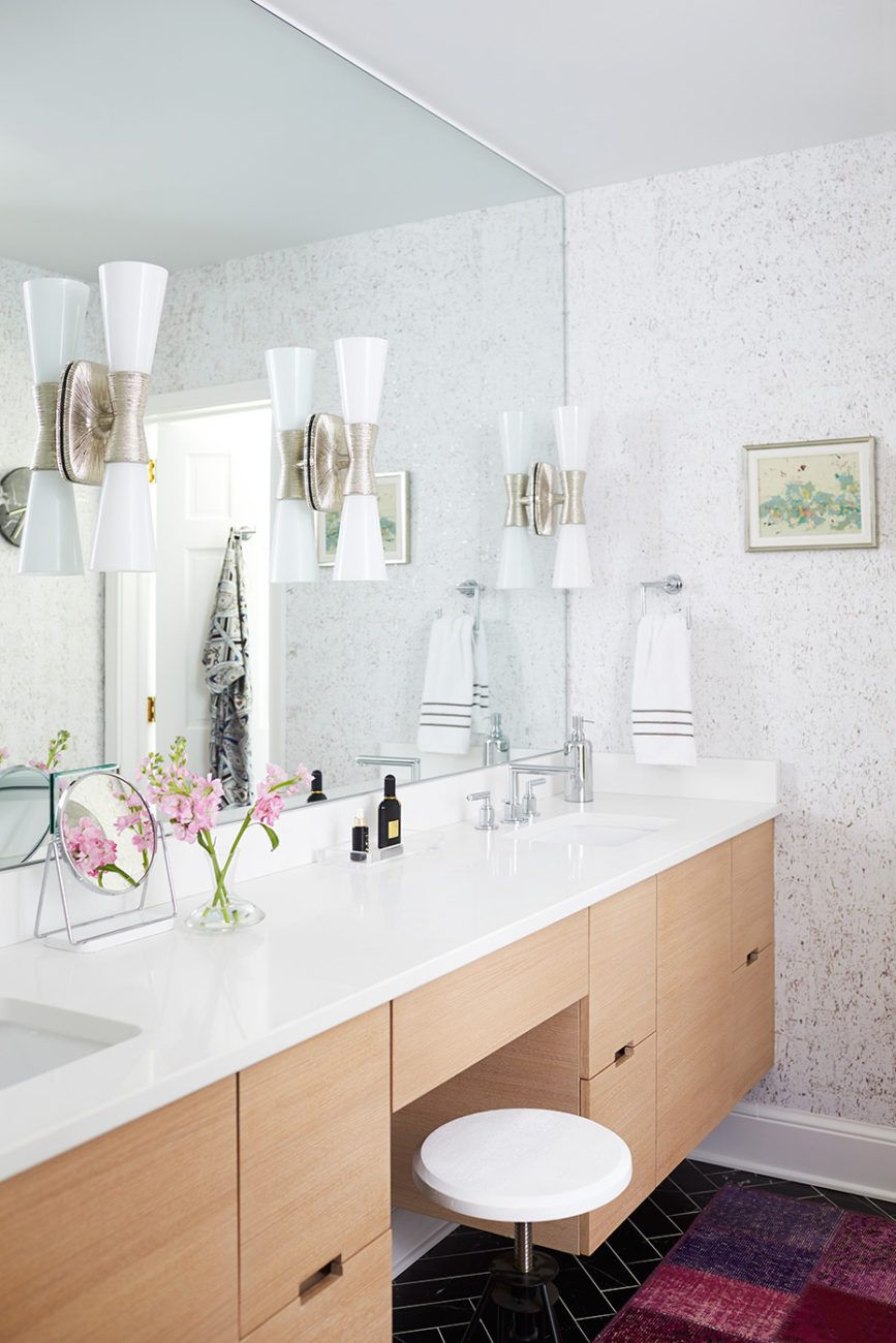 Utopia Small Double Bath Sconce By Kelly Wearstler In Polished Nickel | Interior  Design By Kara