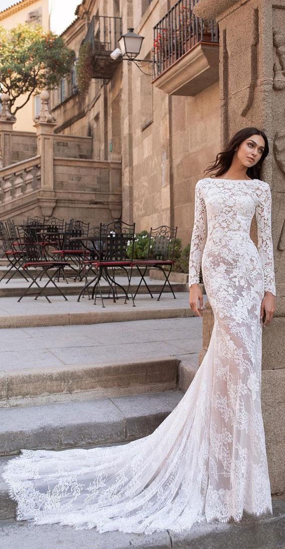 7 Chic Long Sleeve Wedding Dresses   Elegant Wedding Dress