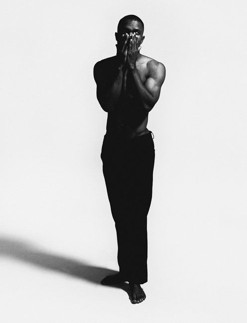 Oyster 103 Cover Shoot — Frank Ocean shot by Nabil. http://oystermag.com/oyster-103-cover-shoot-frank-shot-by-nabil