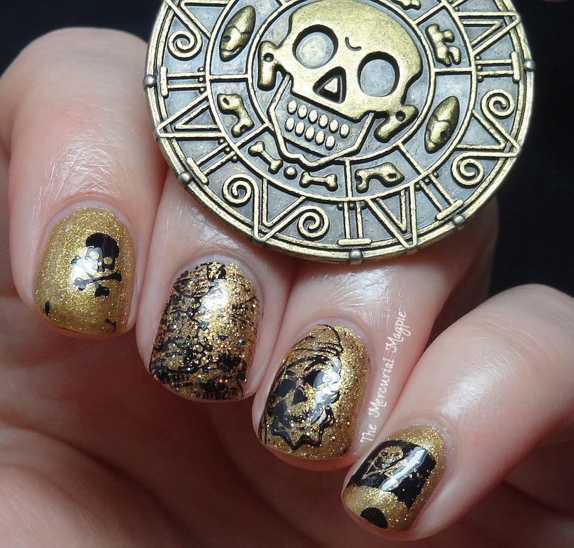 Sweet Heart Polish & Ellagee Pirates Of The Caribbean Duo