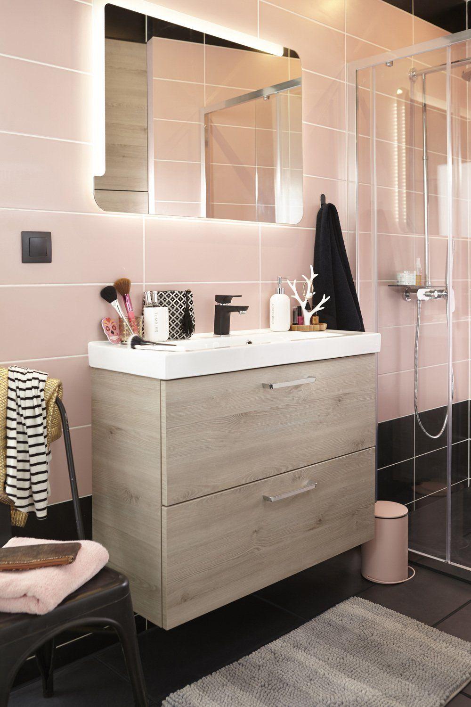 Salle de bains Rose / Violet SENSEA Contemporain / Actuel | Salle de ...