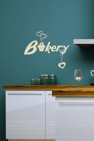 #Wandtattoo #Bakery
